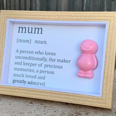 Mum Jelly Baby Definition frame