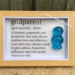 Godparent Jelly Baby Definition frame