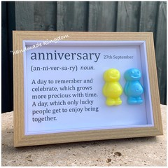 Anniversary Jelly Baby Definition frame