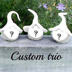 Custom gnomes - trio