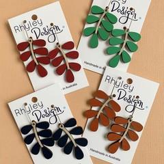 Statement Leaf Earrings