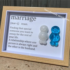 Marriage Jelly Baby Definition frame