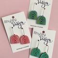 Colourful Hills Earrings