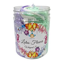 Whipped Soap   Lotus Flower 200ml Jar