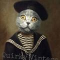 Customised Royal Pet Portrait in Renaissance Costume - Sailor