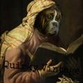 Customised Royal Pet Portrait in Renaissance Costume - Book Lover
