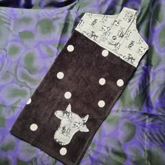 Hand towel - moo cow