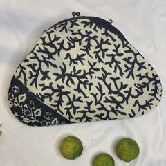 cotton handmade purse