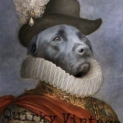 Customised Royal Pet Portrait in Renaissance Costume - Ruff Knight