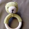 Baby Teddy Rattle
