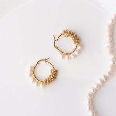 2-way Fresh water pearls