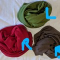 100% Merino THICK headband, neck sock, ear warmer