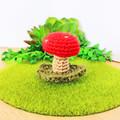 Mini Crochet Mushroom
