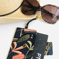 Key Chain Card Holder/ Black Cockatoo/ Key Chain Wallet/ Bus Pass Holder