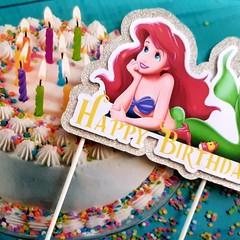 The Little Mermaid, Cake Topper 3D