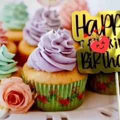 Happy Birthday, Cake Topper, Adult