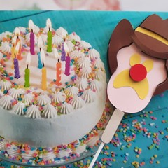 Bubble O Bill,  Ice cream, Cake Topper, 3D