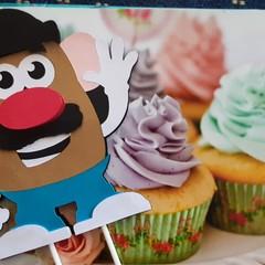 Mr Potato Head Cake Topper 3D