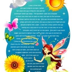 STAR YOUR CHILD In A Fairy Poem | Boy & Girl Wall Art | Personalised Digital Dow