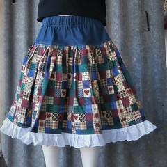 Littles Girls Country Skirt