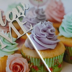 Happy birthday, Cake Topper, Make a wish. Party decorations