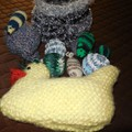Cat/Kitten toys and basket