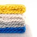 Crochet Cowl in Grey