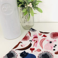 Tea Towel/ Emu/ Wombat/Native Animals/ Australian/ Native Birds/ Dish cloth