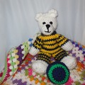 Baby Blanket, Teddy Bear and Baby's First Ball