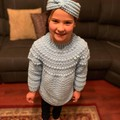 Child, Toddler Jumper 1-2years, Crochet Handmade, Boy, Girl, Knitwear