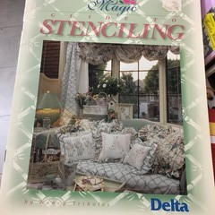 Magic guide to stencilling by Nancy Tribolet (Delta)
