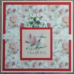 So Thankful - Handmade Card