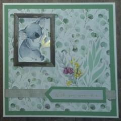 Wish you were here - Handmade Card