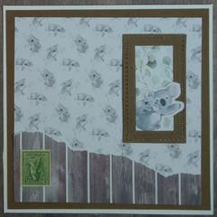 Koala Handmade Card