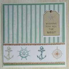 Wishing you all the best - Handmade Card