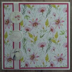 Enjoy Today - Handmade Card