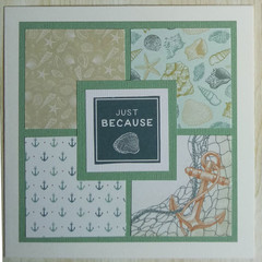 Just Because - Handmade Card