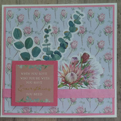 When your in love... - Handmande Card