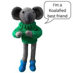 Charlie the Koala - from the Red George cuddle crew