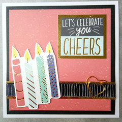 Lets Celebrate YOU - Handmade Card