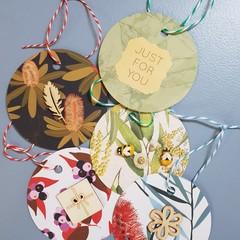 Native Australian Gift Tags (5)