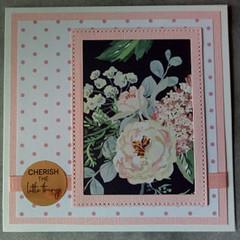 Cherish the little things - Handmade Card