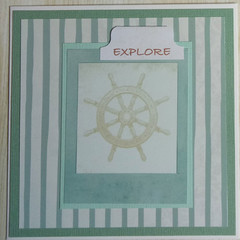 Explore - Handmade Card