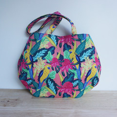 The Pines Tote - Christie Williams fabric