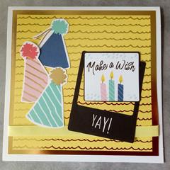 Make a Wish - Handmade Card