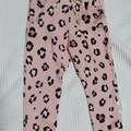 Leopard Pink Girls Joggers