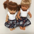 Miniland Dolls Skirt and Top to fit 38cm Dolls