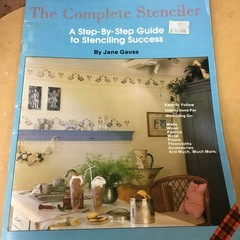 """Plaid """"The Complete Stenciler"""" by Jane Gauss."""