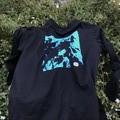 Unisex 'Bubbles' Blue Long Sleeve