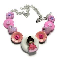 Girl's Princess necklace - Summer Princess